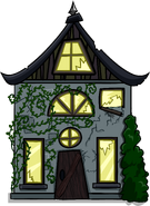 Creepy Cottage Cut-Out sprite 001