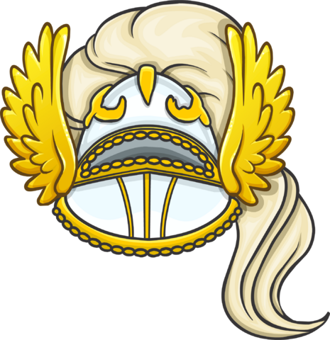 File:White Night Helmet clothing icon ID 1253.png