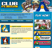 Club penguin website