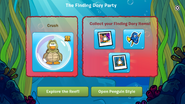 Finding Dory Party app interface page 4