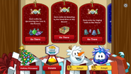 Holiday Party 2016 app interface page 1