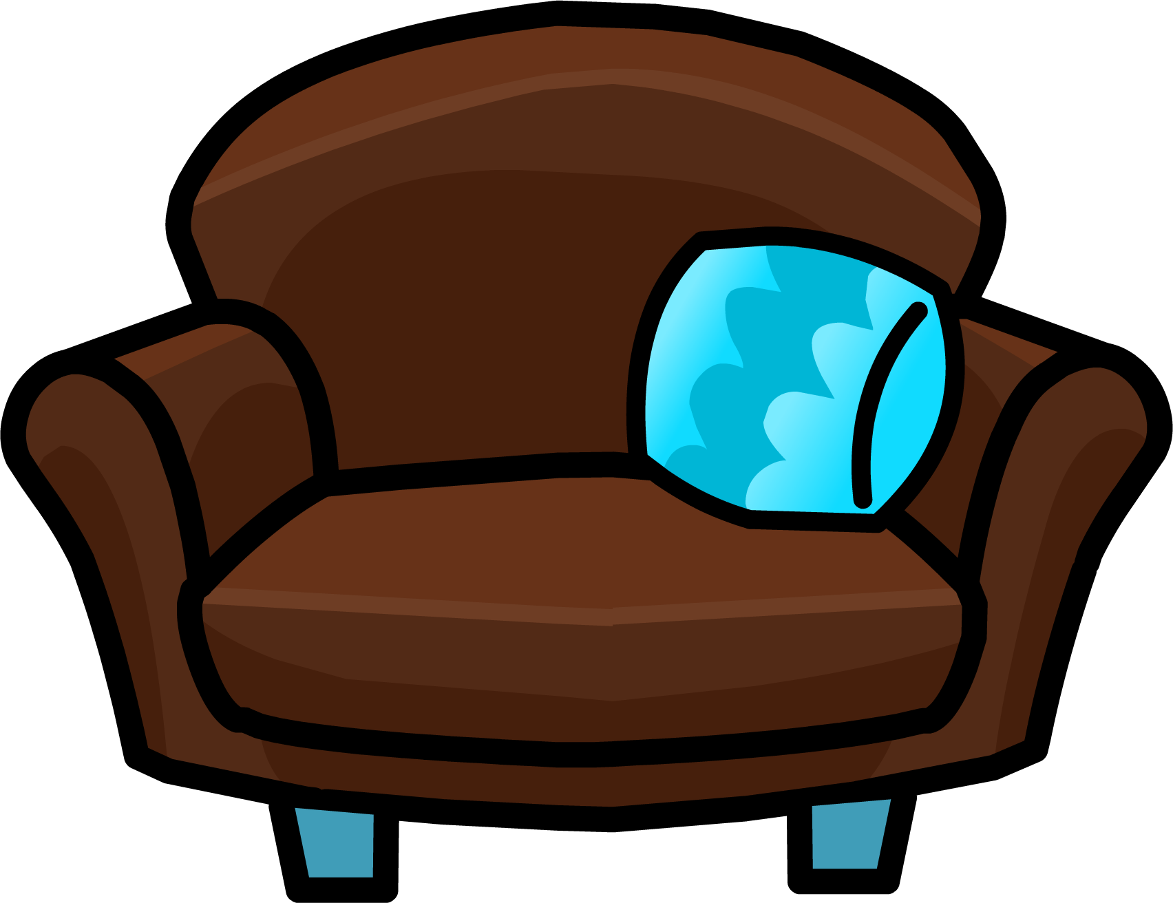 Image club penguin wiki fandom powered by wikia - Sofa herbergt s werelds ...