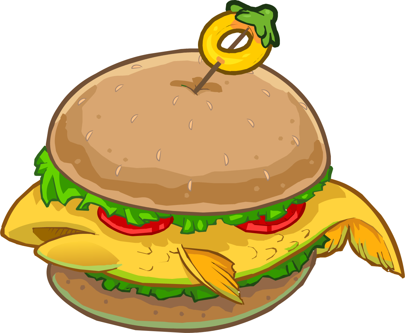 Fish Burger Club Penguin Wiki Fandom Powered By Wikia