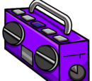 Purple Boom Box (ID 5159)