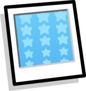 Blue Stars Background clothing icon ID 981