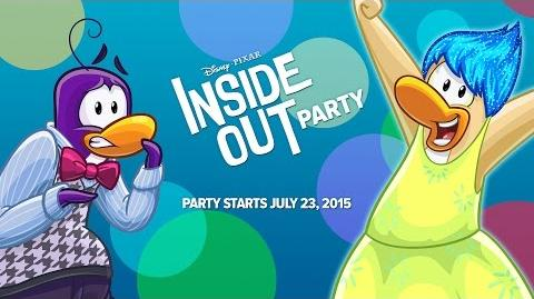 Disney Pixar Inside Out Party Joy and Fear