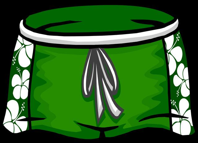 File:Green Hawaiian Shorts.png