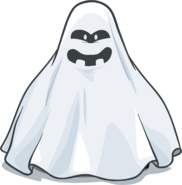 Spectral Costume from a Player Card