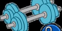 Blue Hand Weights