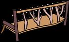 Log Bench sprite 004
