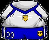 Blue Away Soccer Jersey