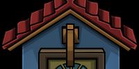 Cozy Blue Door