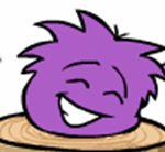 Purple puffle trunk