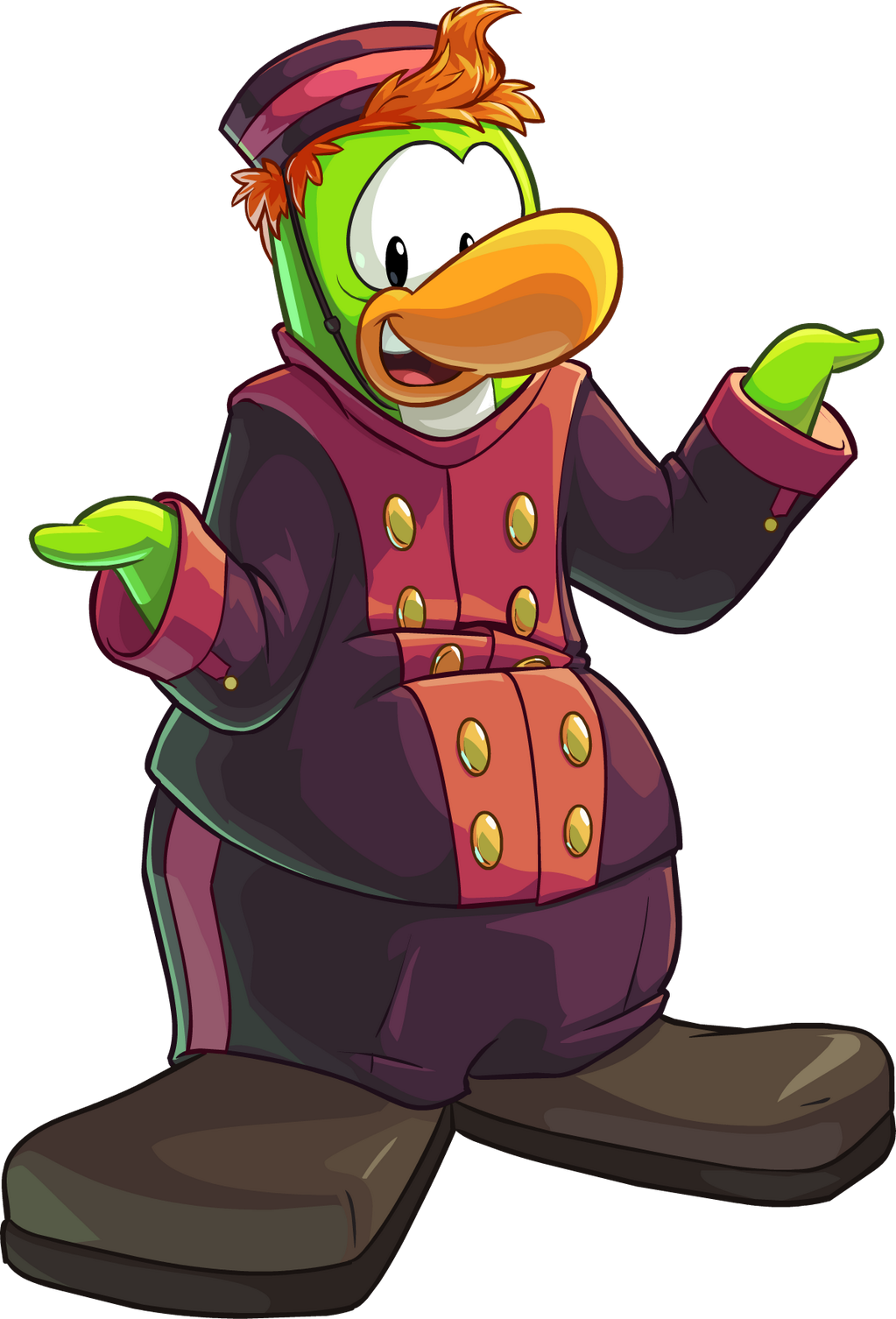 Image Skip The Bellhop Png Club Penguin Wiki Fandom