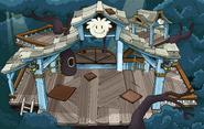White Puffle Tree House sprite