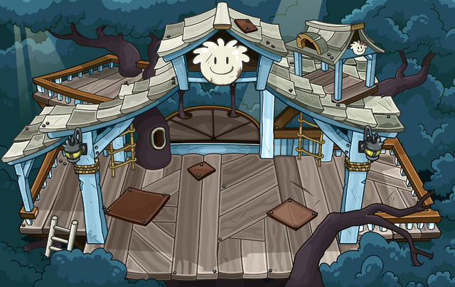 File:White Puffle Tree House sprite.png