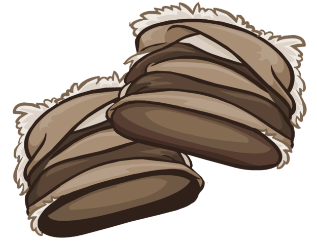 File:Brown Furry Boots clothing icon ID 6151.png