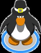 Pilgrim Hat In-game