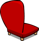 Red Plush Chair sprite 006