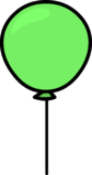 Green Balloon sprite 005