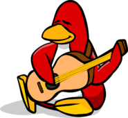 June 2006 Accoustic Guitar Penguin Style