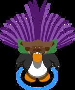 Grape Headdress In-Game