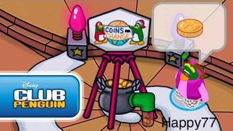 Holiday Party 2011 Sneak Peek from Happy77 Official Club Penguin