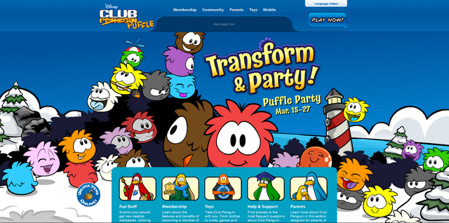 File:Hoempage screen for Puffle Party.png