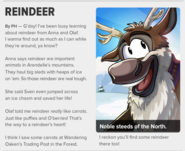 Reindeer Sven