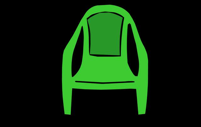 File:GreenPlasticChair1.png