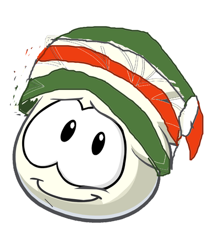 File:White Yoshi puffle.png