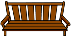 Wood Bench furniture icon ID 146