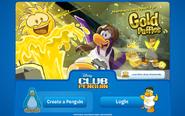 QuestGoldPuffleLogInScreen