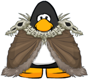 Great Bone Cloak from a Player Card