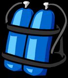 BlueScubaTank