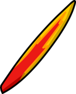 Flame Surfboard icon