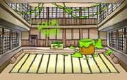 Lime Green Party Dojo