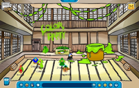 Lime Green Party Dojo
