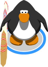 McKenzie's Surfboard in-game