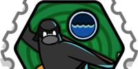 Water Ninja stamp (Card-Jitsu Snow)