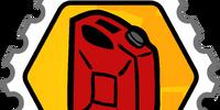 Fuel Rank 2 stamp