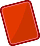 Penguin Cup 2014 Emoticons Red Card