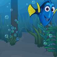 Finding Dory Background photo