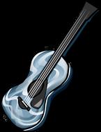 Oil Slick Guitar