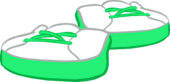 Lime Green Sneakers icon