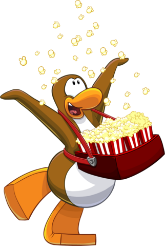 File:Penguin Style Feb 2014 Penguins At Work popcorn penguin.png