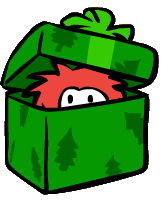 File:Rockhopper's Red Puffle Christmas Gift.png