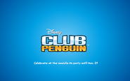 Waddle On Party logo screen