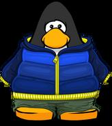Blue Fade Hoodie PC