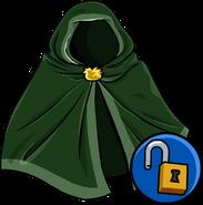 Green Hooded Cloak unlockable icon